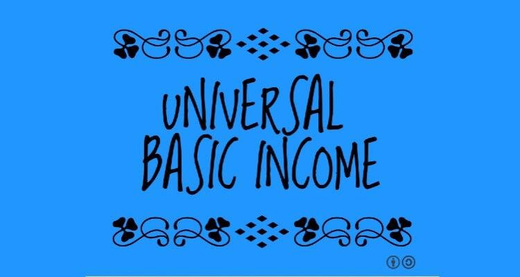 Screenshot of Universal Basic Income Banner