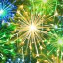 Screenshot of beautiful fireworks