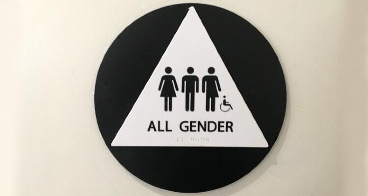 Screenshot of All Gender Restroom Sign