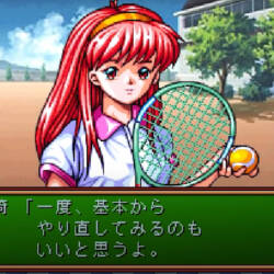 A screenshot of dating simulator Tokimeki Memorial.