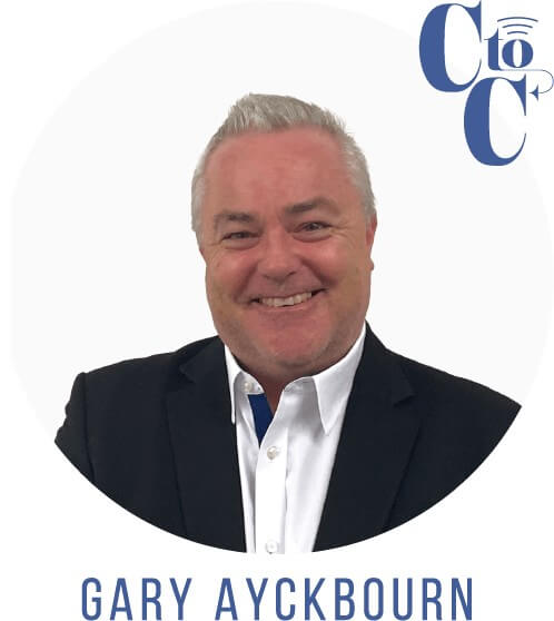 Gary Ayckbourn, CEO of Concept to Consumer Collective