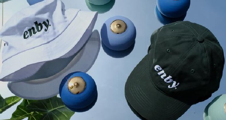 enby store merchandise with hats