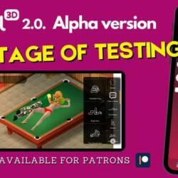 Yareel 2.0 Alpha version sex game on mobile.