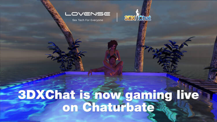 Chaturbate has approved 3DXChat and added the most famous online 3D sex universe to the list of games performers can play on their stream.