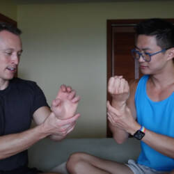Davey Wavey chats with adult model Ray Dexter about a medical procedure to make his already large penis even bigger.