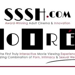Banner of Sssh.com Award-winning adult cinema & innovation Soiree
